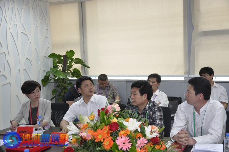 沙河玻璃网参加2013广交会