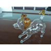 500ml垂耳狗狗造型吹制工艺酒瓶生肖狗狗造型玻璃酒瓶白酒瓶