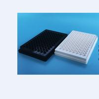 上海晶安96孔板 酶标仪用黑色白色荧光发光酶标板 不可拆卸