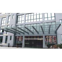 扬州【庆亚】办公室玻璃隔断感应门玻璃门测量定做安装