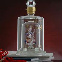 白酒玻璃瓶厂家定制内置造型空酒瓶创意小酒瓶