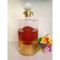 高硼硅玻璃白酒瓶生产厂家定制异形工艺玻璃酒瓶