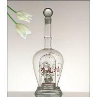 白酒酒瓶生产厂家定做高硼硅玻璃工艺酒瓶