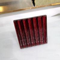专业定制半透仿金丝夹绢玻璃  独特技术高密度线条夹丝玻璃