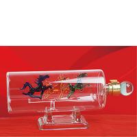 河北玻璃白酒瓶源头厂家直供各种工艺玻璃酒瓶