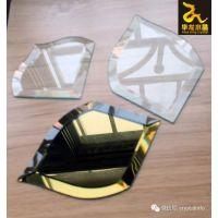 精密异形斜边玻璃设备生产线。
