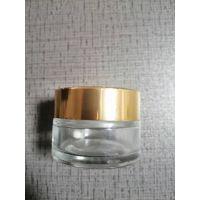 玻璃化妆品膏霜瓶厚底质量面膜瓶10ml30ml50ml可定制