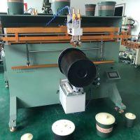 加仑花盆丝印机厂家塑料桶滚印机垃圾桶丝网印刷机直销