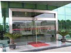 2021扬州庆亚玻璃-定做自动感应门玻璃隔断地弹簧门安装厂家