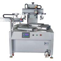 玻璃视窗丝印机亚克力玻璃丝网印刷机PVC玻璃全自动转盘印刷机